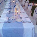 tavola lunga giardino
