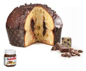 Panettone alla Nutella